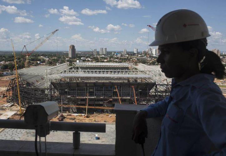 En Cuiabá, hay una batalla legal por el suministro de asientos en el estadio Pantanal. (Foto: Agencias)