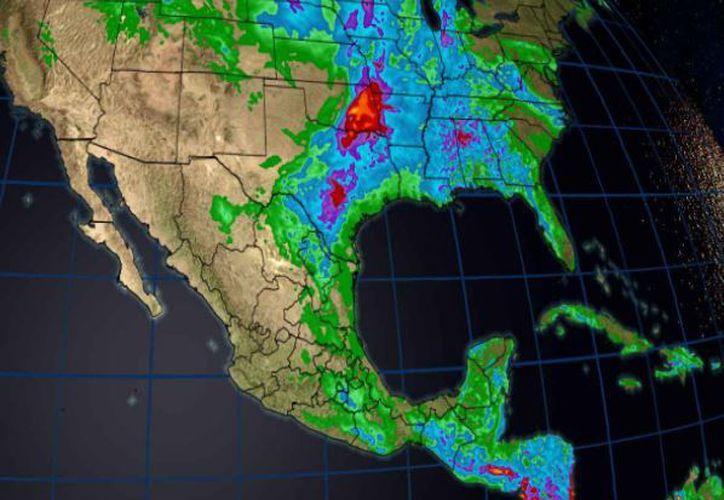 La conagua pronostica  fuertes lluvias en Q.Roo. (Conagua)