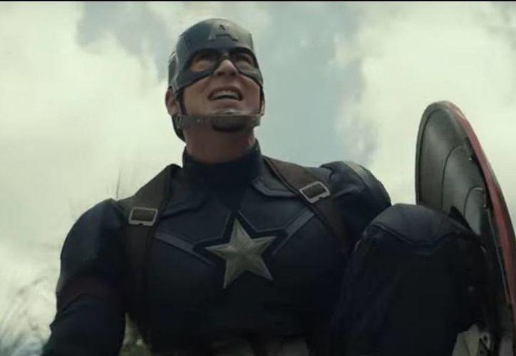 La película de Capitán América dio a conocer un adelanto, por medio del primer tráiler oficial que ya circula por las redes sociales. (Captura de pantalla)