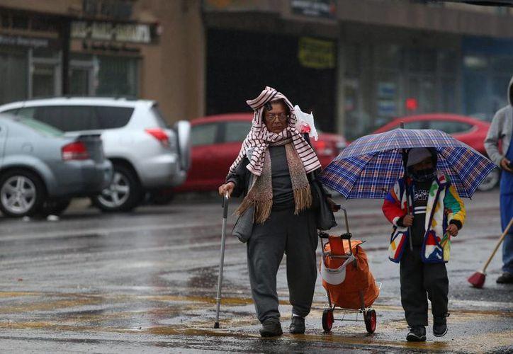Se pronostican lluvias aisladas por la influencia del frente frío número 52. (Notimex)