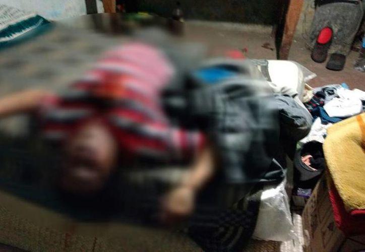 El cuerpo de la víctima fue encontrado por sus familiares. (Jorge Fonseca/elpopular.mx)