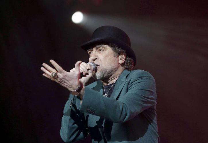 Sabina tuvo que finalizar su concierto en Madrid media hora antes de lo estipulado. (EFE)