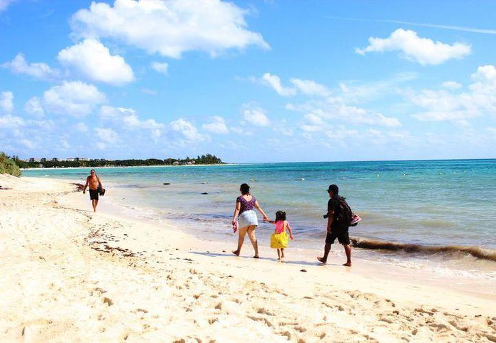 Se escogió la playa de la calle 88 debido a que está mejor ubicada. (Octavio Martínez/ SIPSE)