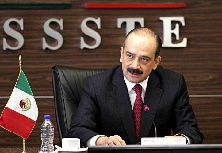 Sebastián Lerdo de Tejada tenía 49 años de edad y ocupó la dirección del Issste desde el 1 de diciembre de 2012. (Foto de archivo de Notimex)