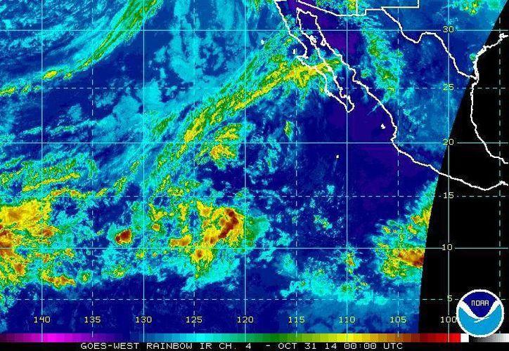 La tormenta tropical Vance se desplaza hacia el oeste a una velocidad de siete kilómetros por hora; originará lluvias de muy fuertes a intensas en Oaxaca, y menores a 25 milímetros en áreas de Guerrero. (nhc.noaa.gov)