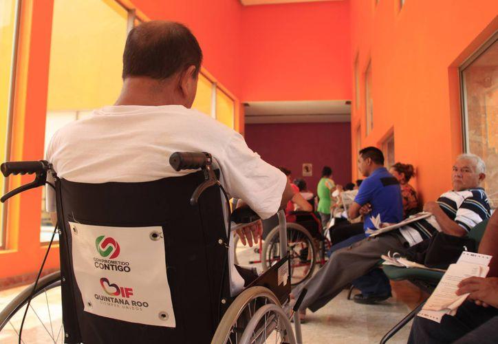 Con el censo sabrán que áreas de rehabilitación reforzar para brindar un mejor servicio. (Harold Alcocer/SIPSE)