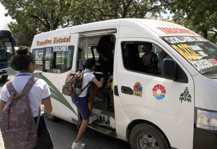 Sintra sancionó con el retiro de cinco unidades por cobro ilegal de pasaje. (Redacción/ SIPSE)