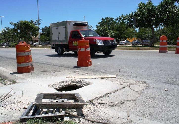 Las obras de reencarpetamiento del Arco Vial inician este jueves. (Octavio Martínez/SIPSE)