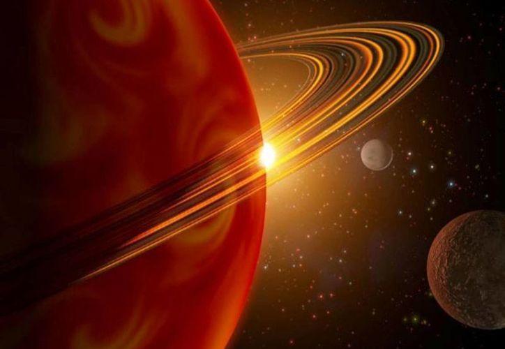 Saturno es el segundo planeta más grande del sistema solar. (www.dharmasanctuary.org)