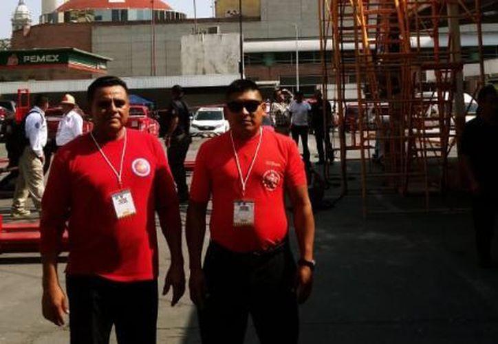 Durante los días de la convención, se llevó a cabo el pasado 7 de noviembre, la competencia 'Bomberos Challege'. (Redacción)