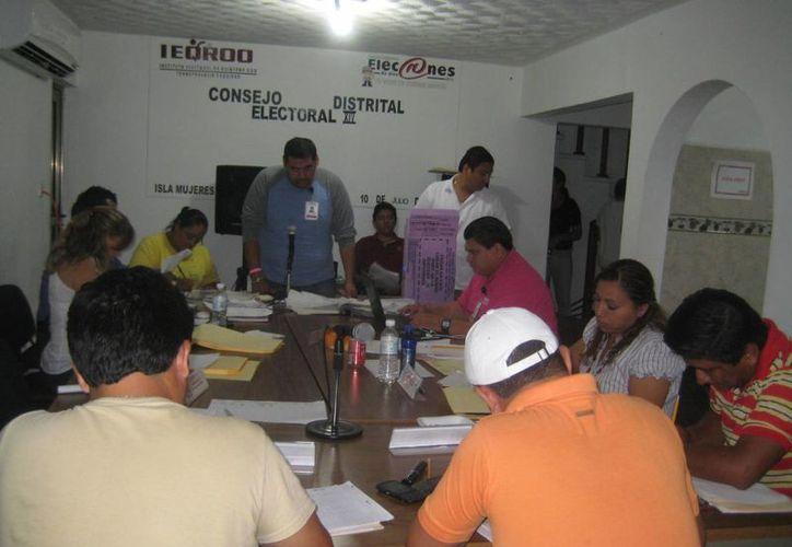 El Consejo Distrital recepcionó los recursos de inconformidad. (Lanrry Parra/SIPSE)