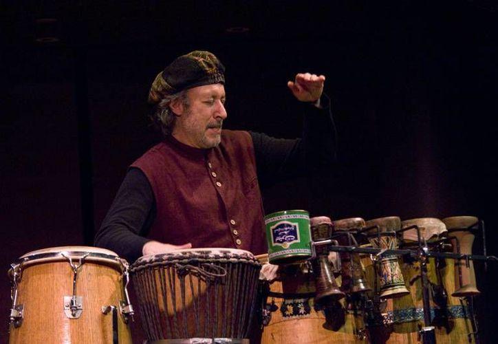Adam Rudolph es conocido como uno de los pioneros del género 'Música del mundo'. (Cortesía)