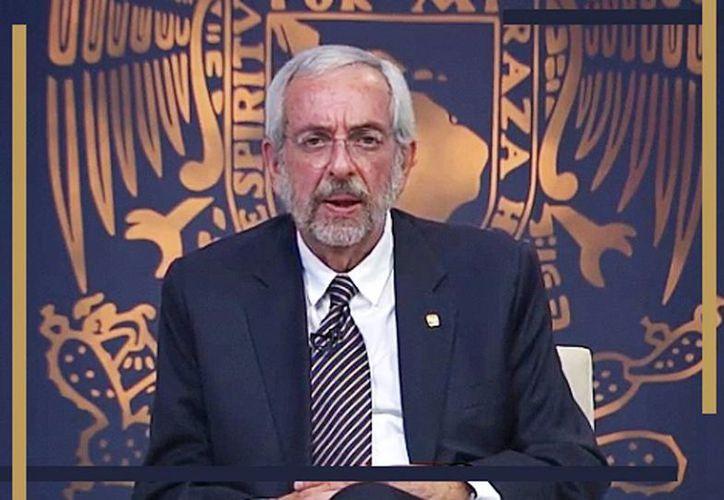 Enrique Luis Graue Wiechers, es el actual director de la Facultad de Medicina de la UNAM, cargo que desempeña desde 2008. (Milenio)