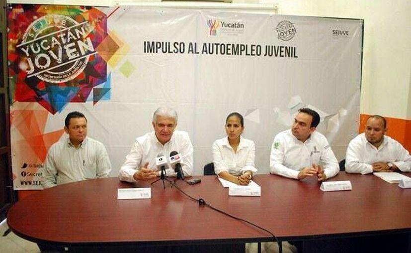 El Gobierno del Estado catapulta el espíritu emprendedor de los jóvenes yucatecos. (Milenio Novedades)