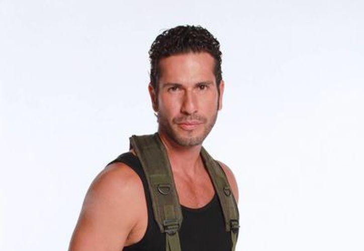 El actor Gregorio Pernía en el papel de Fidel Castaño. (Agencias)
