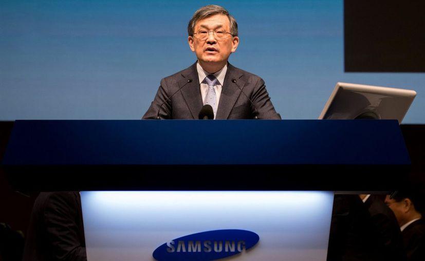 Kwon Oh-Hyun, presidente ejecutivo de Samsung Electronics dio a conocer que no renovará su mandato, tras expirar este, en marzo de 2018. (Foto: López Doriga Digital)