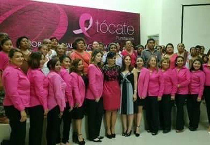 Fundación Tócate difunde la detección oportuna de cáncer de mama. (Luis Pérez/SIPSE)