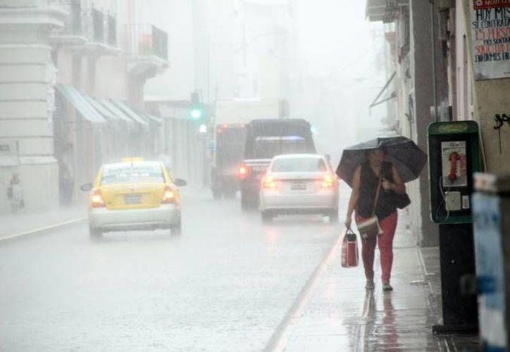Para este miércoles y el resto de la semana se esperan lluvias y nublados. (SIPSE)