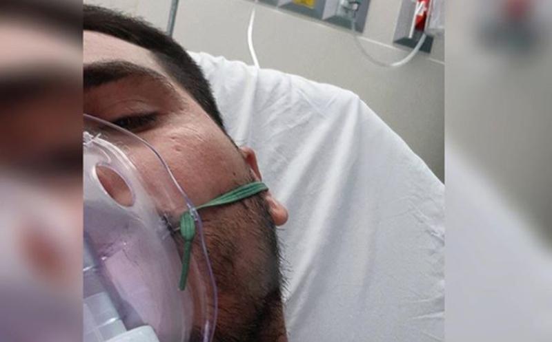Hospitalizan a Espinoza Paz