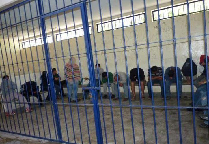 Los detenidos fueron ingresados al Centro de Retención Municipal. (Archivo/SIPSE)
