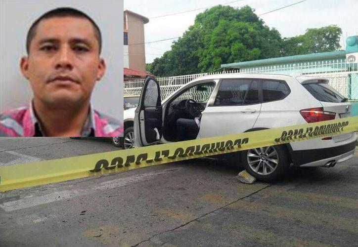 El asesinato ocurrió  la tarde del 1 de septiembre del 2017, cuando Jerry Barceló Cazola fue ejecutado por este sicario que le disparó desde una motocicleta. (Especial)