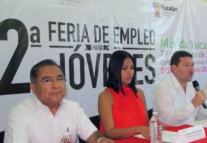 Ayer se anunció la feria del empleo. La sede será el Salón Uxmal del Centro de Convenciones Yucatán Siglo XXI y se podrá acceder de 8:00 a 15:00 horas. (Milenio Novedades)