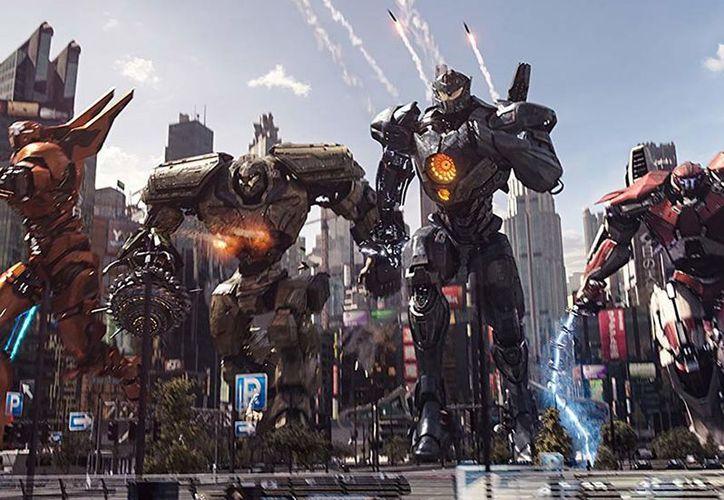 La secuela de ciencia ficción de monstruos contra robots destronó a la más reciente cinta de Marvel. (Legendary)