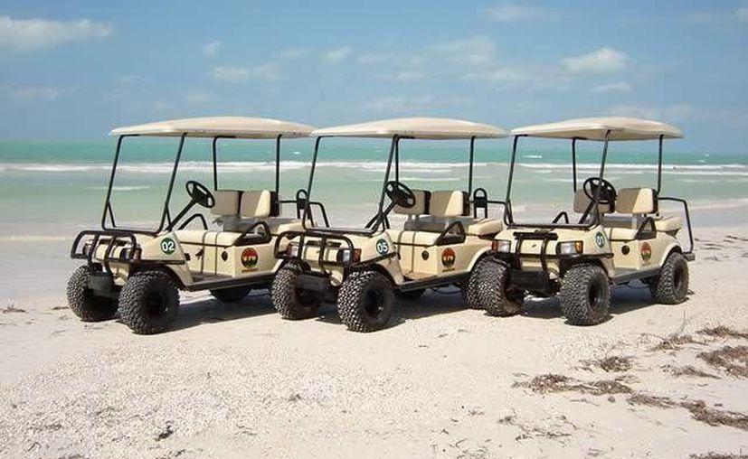 La carrera de carritos de golf iniciará a las 17:00 horas en la pista de aterrizaje. (Foto de Contexto/Internet)