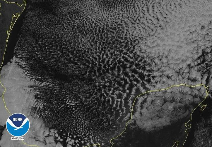 Las temperaturas mínimas para hoy serán entre 7.0 a 11.0 grados en Yucatán, sin que se descarten valores ligeramente más bajos en el sur. (noaa)