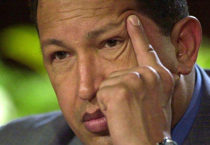 A consecuencia del cáncer, Hugo Chávez falleció hoy por la tarde. (Agencias)