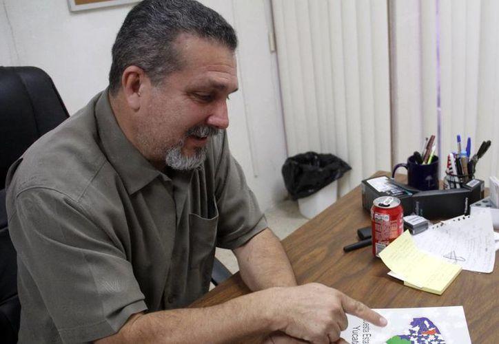 Manuel Ruiz Mendoza, subdirector de Salud Mental de la SSY. (Milenio Novedades)