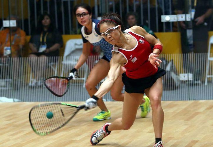 Durante febrero del próximo año se disputará en el Zócalo de la Ciudad de México una fehca correspondiente al  Ladies Professional Racquetball Tour. (Archivo Notimex)