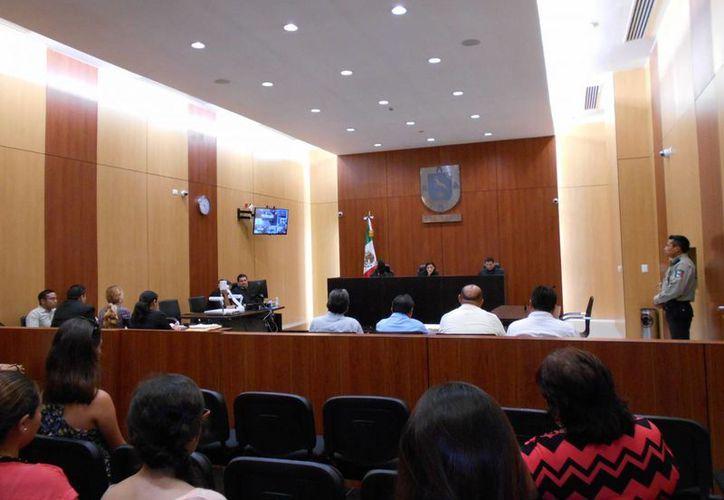 El juicio oral constó de nueve audiencias e inició el pasado 24 de marzo. (Francisco Puerto/SIPSE)