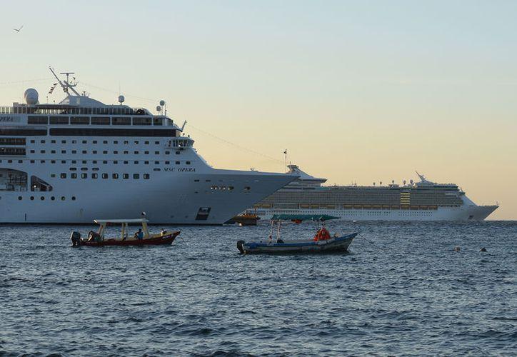 El 21.71% los turistas que se estiman llegue a bordo de los barcos visitarán la perla del Caribe mexicano. (Gustavo Villegas/SIPSE)