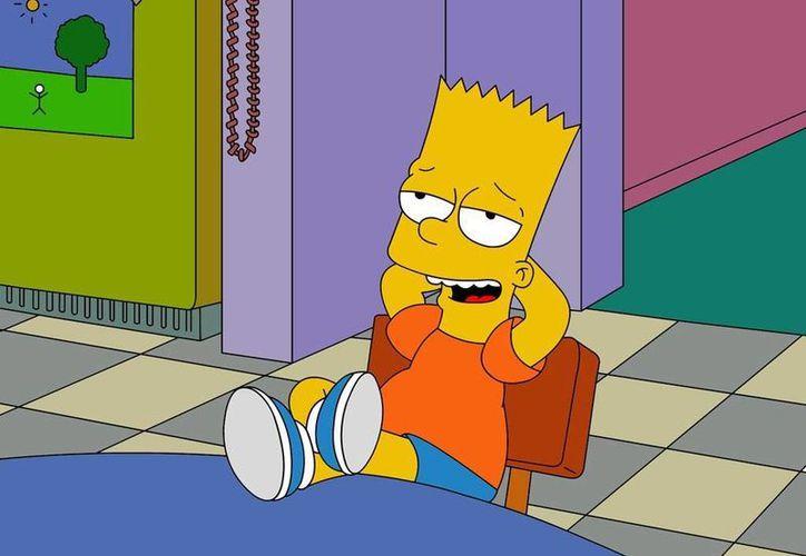 Bart podría morir a manos de Bender, el robot de Futurama. (study-habits.com)
