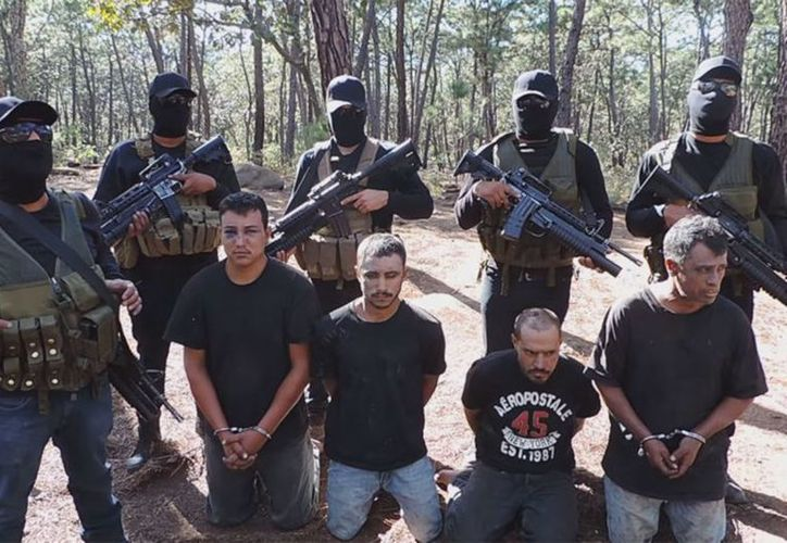 Autoridades mexicanas han desmantelado campamentos de adiestramiento en combate y secuestro. (Internet)