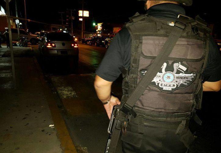 El oficial herido de bala por un comando la noche del miércoles, en la Ruta 5, sigue grave. (Redacción/SIPSE)