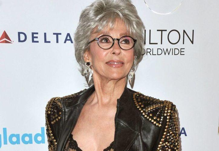 Rita Moreno es la primera hispana que se ha hecho con los galardones más codiciados del espectáculo, entre ellos el Oscar. (AP)