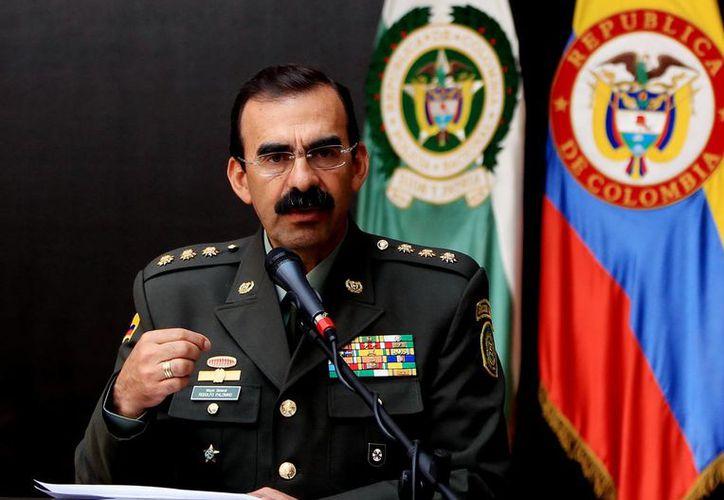 El director de la Policía Nacional de Colombia, general Rodolfo Palomino, dio los pormenores de la captura del narcotraficante colombiano Arley Úsuga Torres. (Archivo/EFE)