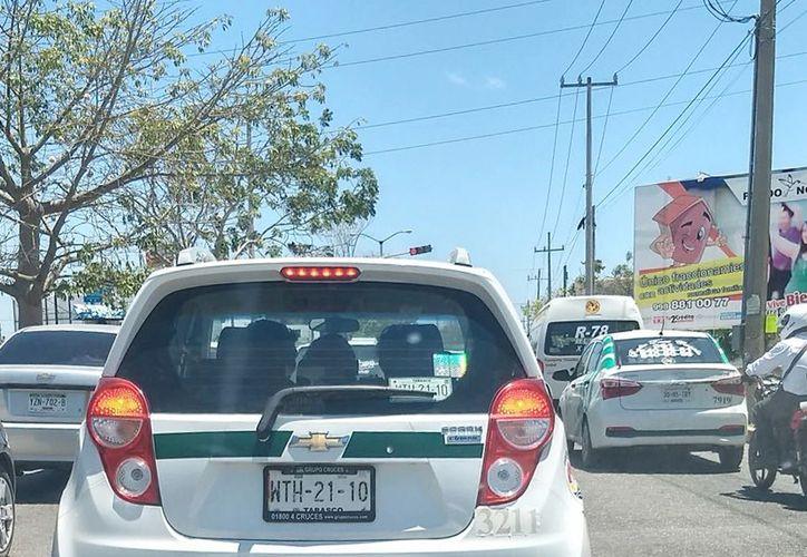El sindicato de taxistas no emitió postura alguna en relación a este caso. (Ivett Ycos/ SIPSE)