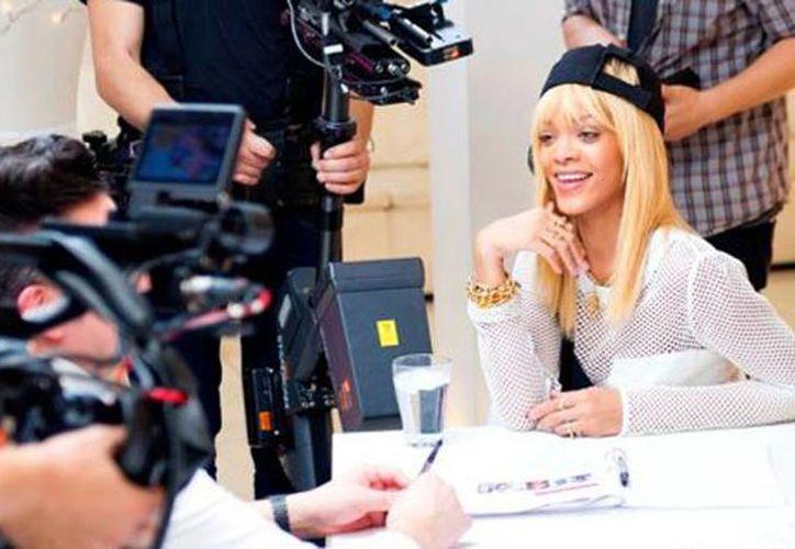 """Rihanna además de ser productora del """"show"""" será parte del jurado. (rdparty.com)"""