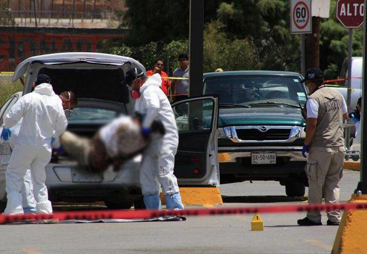 Desde hace una década, la cifra de asesinatos se aproxima a los 200 mil y la de desaparecidos a 28 mil. (proceso.com.mx)
