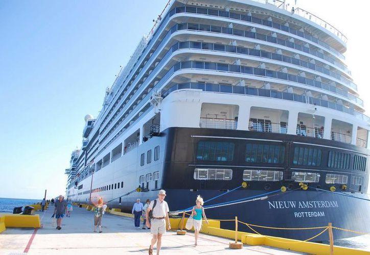 Un total de 5 cruceros arribarán en la terminal Costa Maya de Majahual. (Archivo/SIPSE)