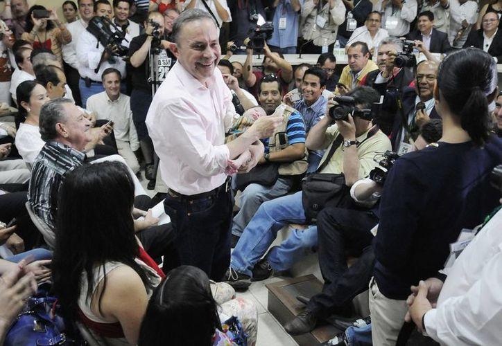 José Guadalupe Osuna Millán es el actual gobernador de Baja California. (Notimex/Archivo)