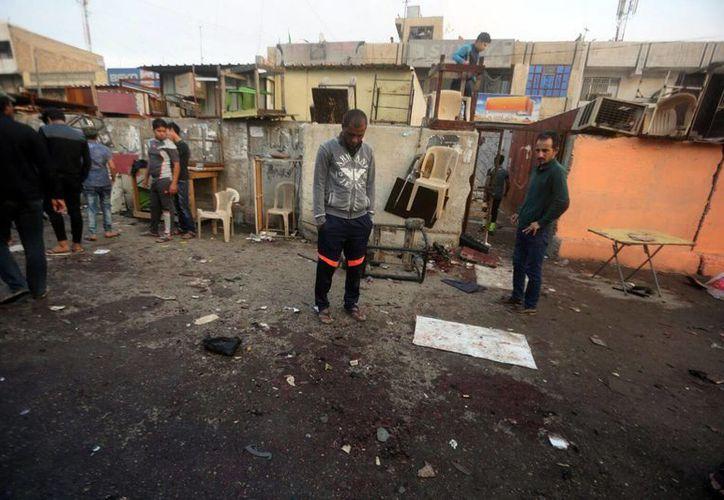 Al menos 28 personas murieron y 46 resultaron heridas en un doble atentado suicida en el distrito de mayoría chií de Ciudad al Sadr, en el este de Bagdad. (EFE)