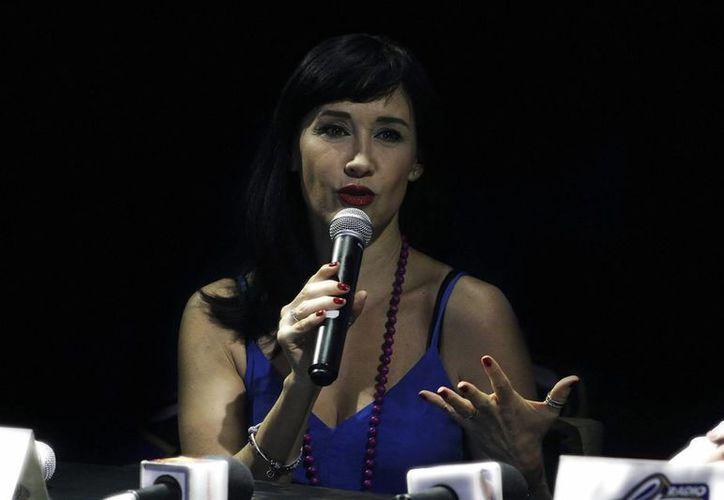 A Susana Zabaleta no le 'cae bien' Julión Álvarez, eso quedó más que claro con sus comentarios en Hoy.  (Archivo Notimex)
