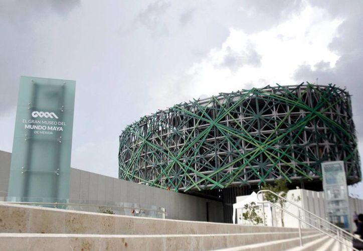 El Gran Museo del Mundo Maya se inauguró el año pasado. (Milenio Novedades)
