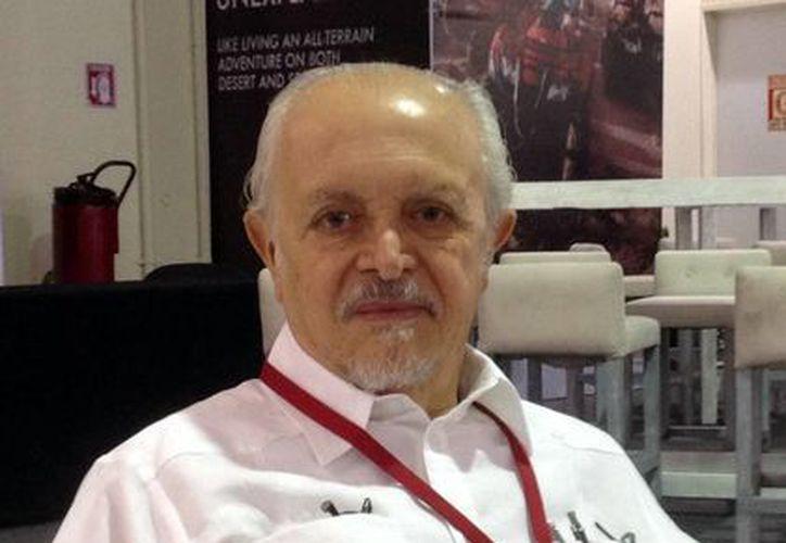 Mario Molina quien fue el primer mexicano en ganar un premio Nobel estuvo en Mérida para participar en la Cumbre del Caribe. (Milenio Novedades)