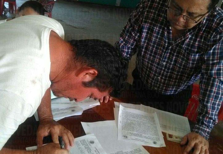 La Aseqroo presentó una lista con 365 nombres que fueron 'beneficiados' por la Sedaru. (Foto: Juan Rodríguez/SIPSE)
