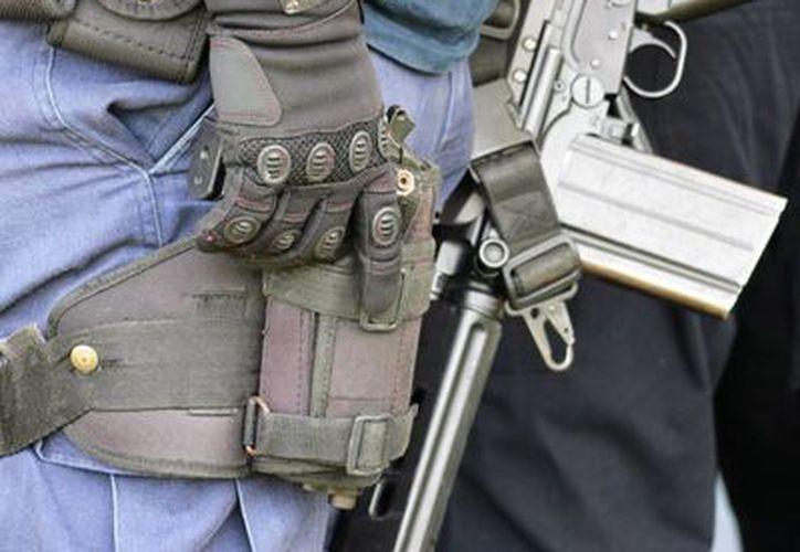 Policías coordinan esfuerzos para inhibir los delitos. (Ángel Castilla/SIPSE)